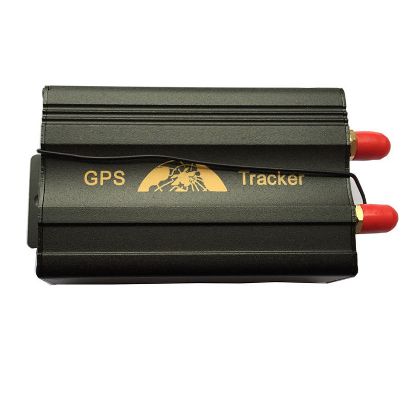 2SIM/GPRS/GPS/GSM Vehicle Car Tracker Real-time Tracking Alarm System Google Map Remote Control 103B(China (Mainland))