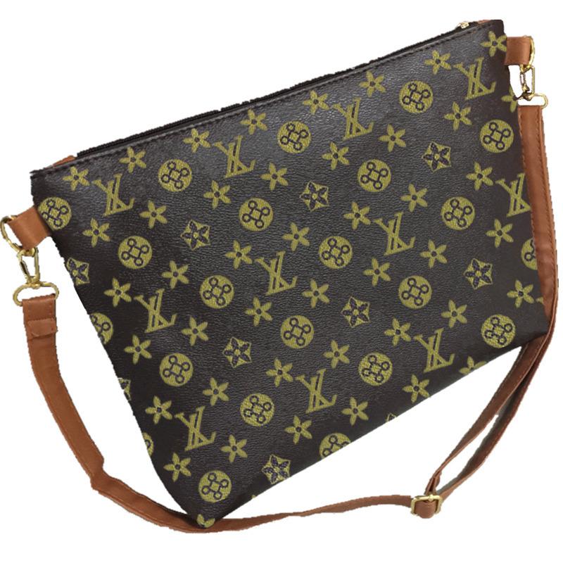 Woman Luxury Brand PU Leather Letter Handbag Ladies Famous Designer Envelope Sling Shoulder Bag Female Clutch Sac Femme gw0710(China (Mainland))