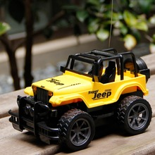 RC Jeep 1/24 Drift Speed Radio SUV Remote control Off Road vehicle Steering wheel RC Jeep vehicle Car Toy Yellow Toys for Boys(China (Mainland))