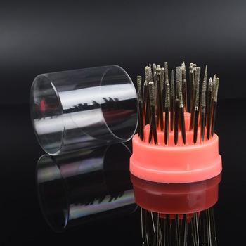 YZWLE 1 Pc New Exhibition Stand Displayer Nail Drill Bit Holder Professional Nail Art Manicure Tools Nail Drills Box