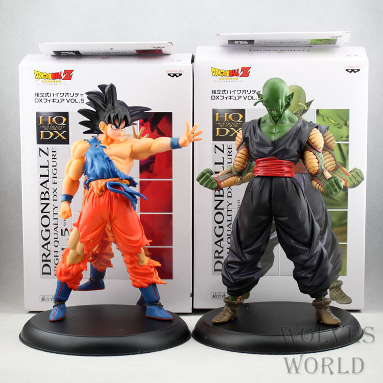 2pcs/set 20cm Dragon Ball Z Action Figures Boxed PVC Model Collection Toy Gift Dragonball Evolution Action & Toy Figures Kids Bo(China (Mainland))