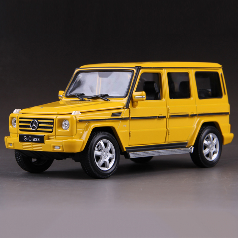 Welly ALLOY MODEL BZ G-Class G500 G55 Yellow 1:24  ALLOY CAR MODEL TOY VEHICLE  CAR MODEL ALLOY MODEL Toys gift Toy car<br><br>Aliexpress