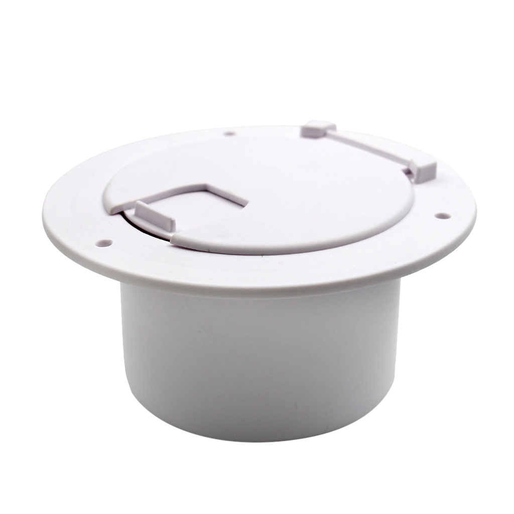 1 Pcs RV Round Electric Cable Hatch 5.2