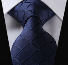 "Paisley Check Dot 3.4"" 100%Silk Wedding Jacquard Woven Men Classic  Man's Tie Necktie #I2(China (Mainland))"