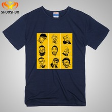 Buy Wu Tang clan T shirt new arrival T-shirt men's short sleeve hip hop tees rock tops cotton o neck top streetwear for $13.88 in AliExpress store