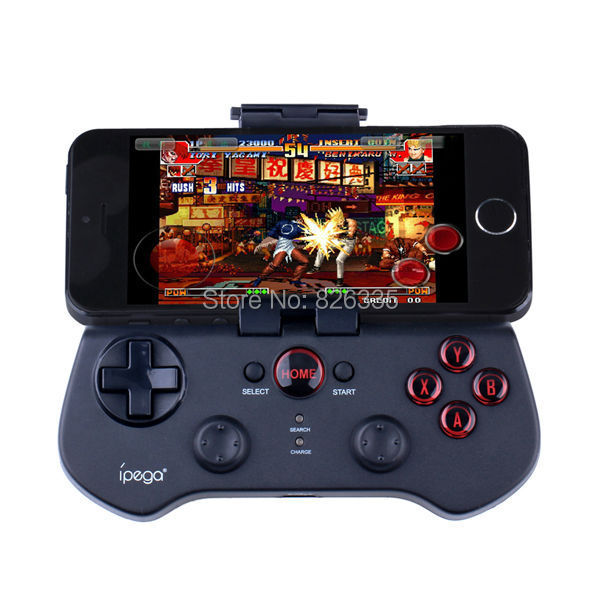 Black Wireless Bluetooth 3.0  Android Gamepad Joystick Game Controller For Samsung iPhone HTC  PG-9017(China (Mainland))