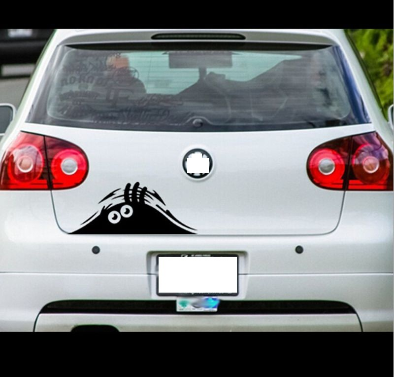 Car Accessories Funny Sticker Car For Volkswagen Golf 5 Golf Mk5 Car Covers Good Quality Smart Car Accessories Free Shipping(China (Mainland))