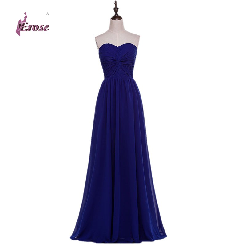 2016 new stock a line sweetheart criss cross royal blue for Royal blue wedding dresses cheap