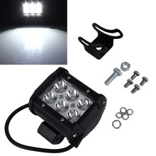 """Buy 4"""" inch 18W LED Work Light Lamp Motorcycle Tractor Boat Road 4WD 4x4 Truck SUV ATV Spot Flood 12v 24v Hot Selling### for $11.97 in AliExpress store"""