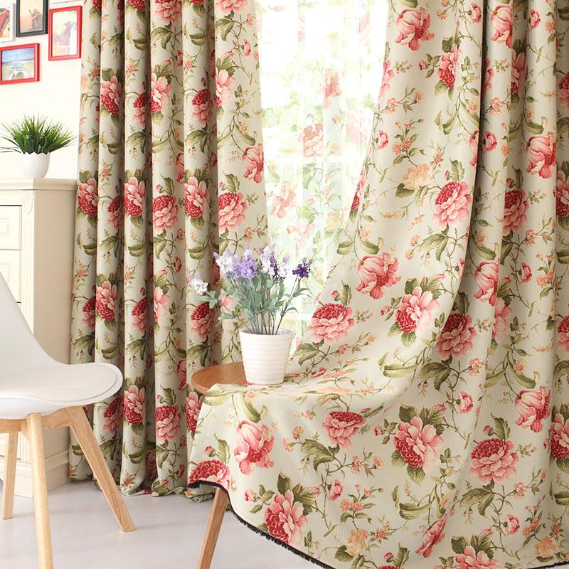Kiki Cloth High End European Rome Curtain Shade Garden