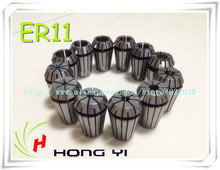 Free shipping Full sets ER20 (1-13mm) beating  0.1mm  precision spring collet for 2.2KW spindle motor