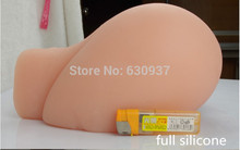 Artificial realistic silicone ass with artificial vagina real pussy and ass sex doll for men male masturbator drop shipping