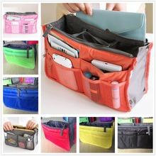 Multifunction Women Men Casual Cosmetic Makeup Organizer Bags Toiletry Kits Outdoor Travel Ladies handbag bag in bag Storage
