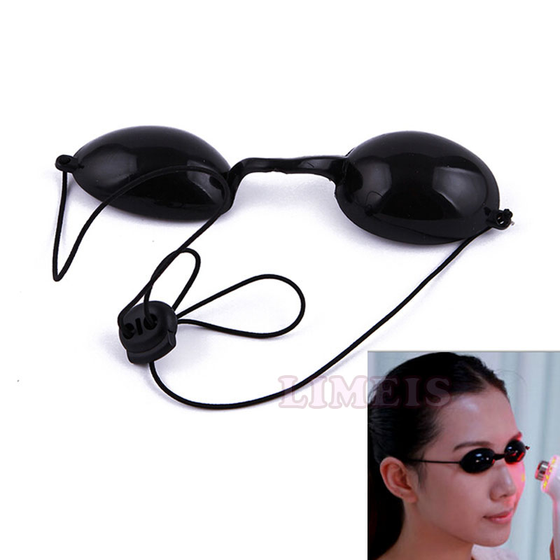 IPL safety E-light goggles eye protective laser-resistant glasses in black color photon beauty machine accessories