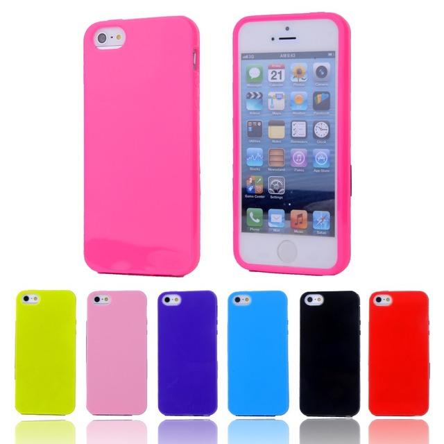 Etui iPhone 5C Candy różne kolory
