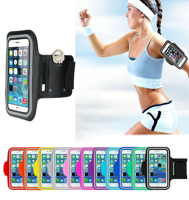 New Sports Running Armband Case Workout Armband Holder Pounch For iPhone 6 4.7