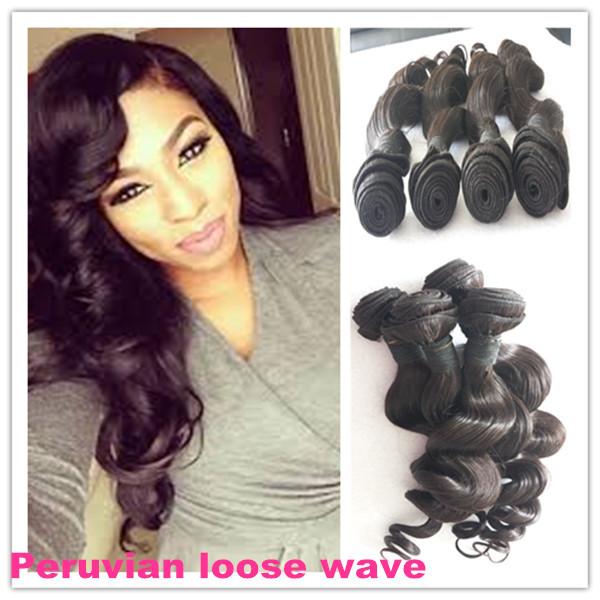 Peruvian hair 4 bundles 10-28,5a unprocessed human hair rosa hair products loose weave peruvian virgin hair<br><br>Aliexpress