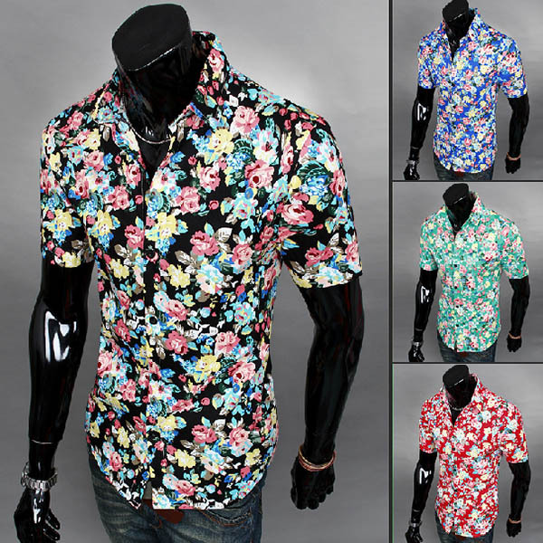 Beach Button Down Shirts