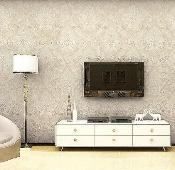 Home decor italian wallpaper non woven background wall for Wallpaper home improvement