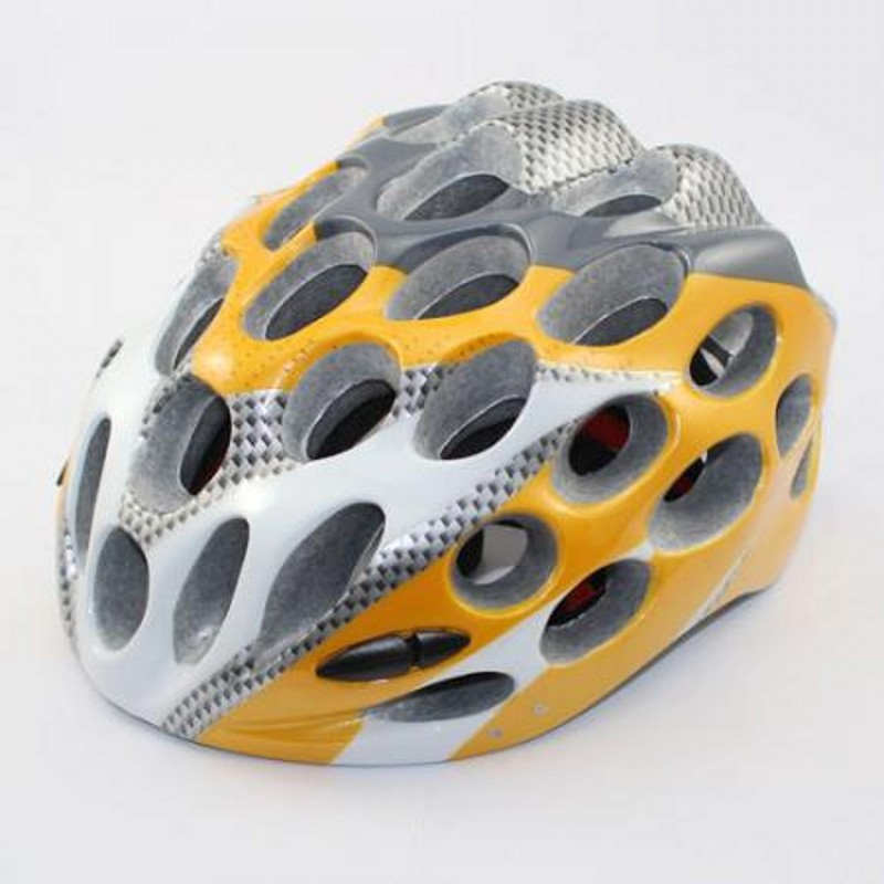 Cycling Bike Sports Safety Bicycle Honeycomb Type 41 Holes Adult Helmets orange color AH1041(China (Mainland))