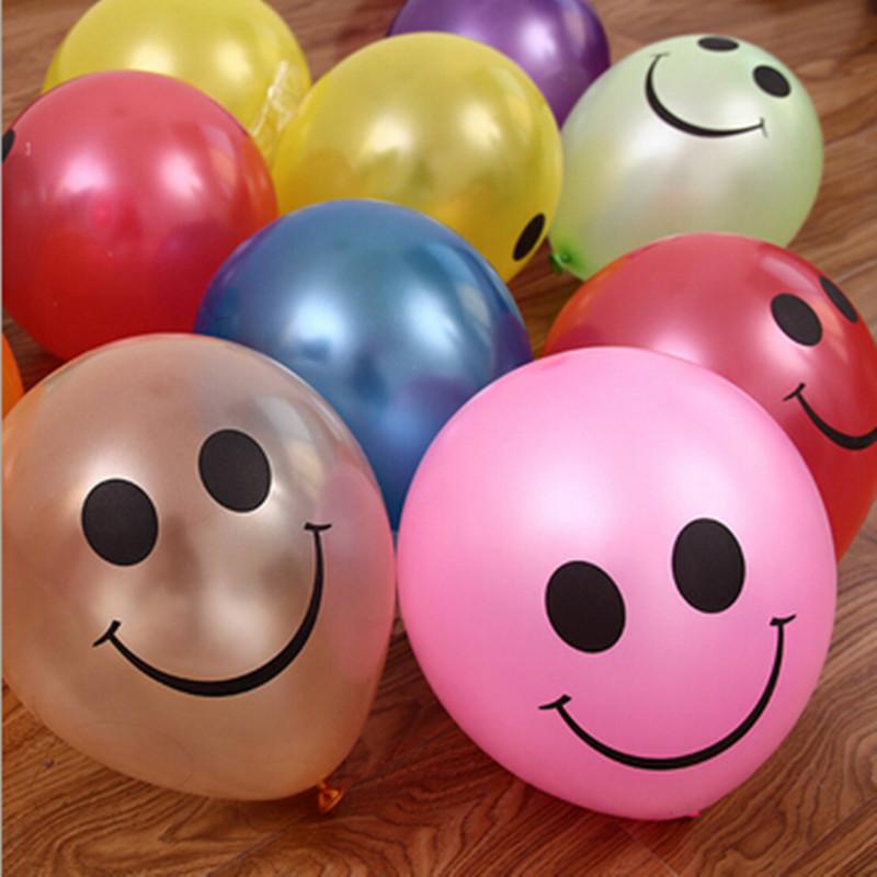 Smiley Latex Balloons : Balloon World