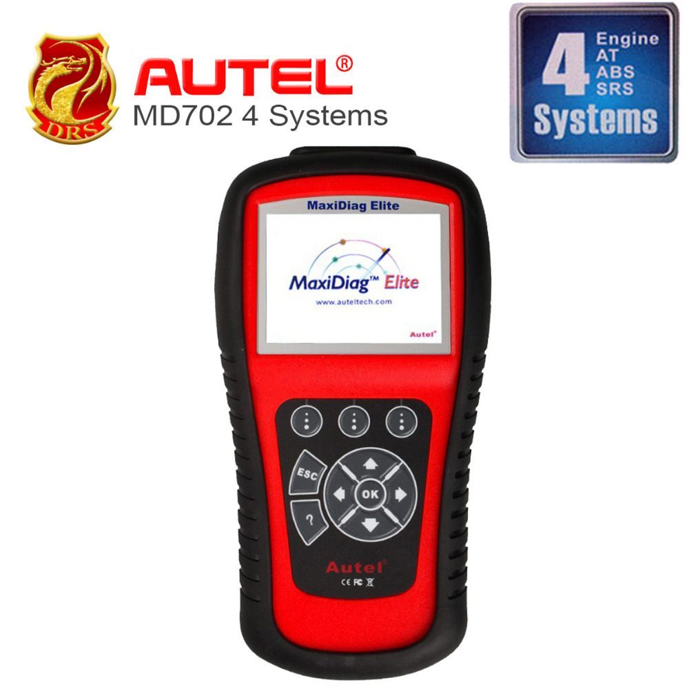 Autel MaxiDiag Elite MD702 OBD II Auto Code scanner ALL systems + DS Model + EPB+OLS Diagnostic for Europe Cars Online Update(China (Mainland))