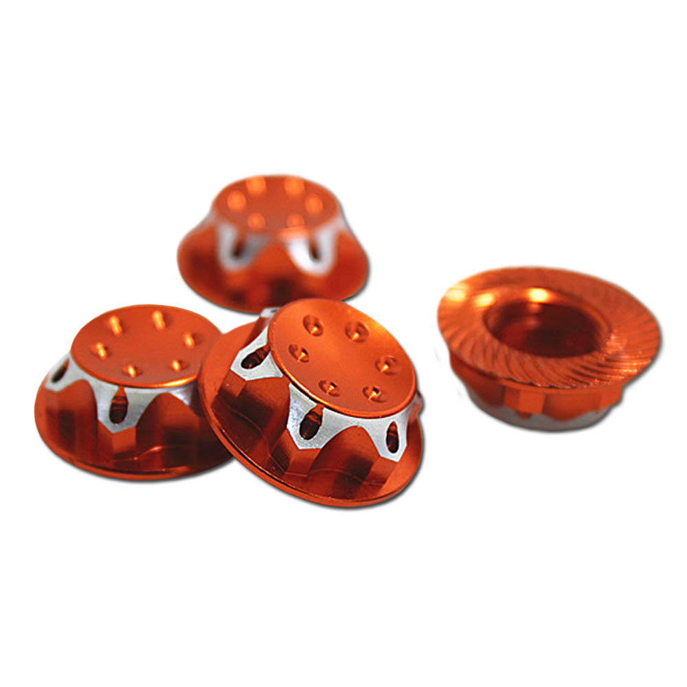 17MM Dust Lock Nut Adapter For 1/8 Buggy/Truck WHEEL RC HPI LOSI HB AE MUGEN TEAM C(China (Mainland))