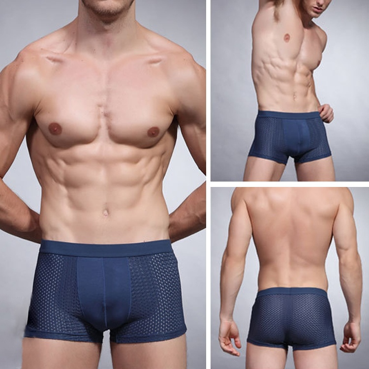 Fashion Men s Sexy Underpant Cuecas Calzoncillos Hollow Men s Underwear Boxer Shorts Cuecas Boxer Trunk