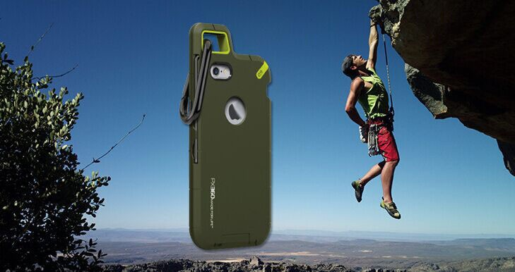 Carabiner PX360 Extreme Rock Climbing Protection Case for iPhone6s (Drop-proof,carabiner,screwdriver) for iPhone 6 6s 4.7inch