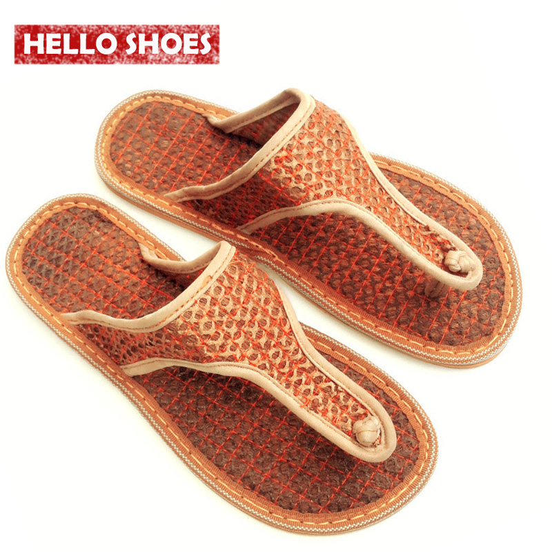 Fashion Women Flip Flops Cocofiber Joined The Investment Absorbent Breathable Dampness Deodorant MenS Sandals And Slippers<br><br>Aliexpress