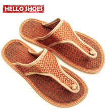 Fashion Women Flip Flops Cocofiber Joined The Investment Absorbent Breathable Dampness Deodorant Men'S Sandals And Slippers(China (Mainland))