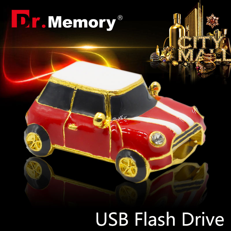 Pen drive Minion USB Flash Drive on sale usb flash mini small red car 4GB/8GB/16GB/32GB usb2.0 key chain usb stick cooper(China (Mainland))