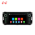 Quad Core Android 5 1 1 Car DVD Player for Chrysler 300C Jeep Grand Cherokee with