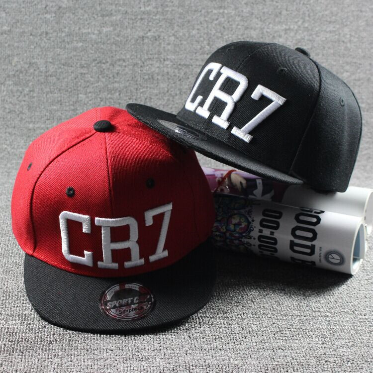2016 Brand Children Soccer Star Ronaldo CR7 Embroidery Kids Baseball Cap Hat Bone Boys Girls Sports Snapback Hip-hop Caps Gorras(China (Mainland))