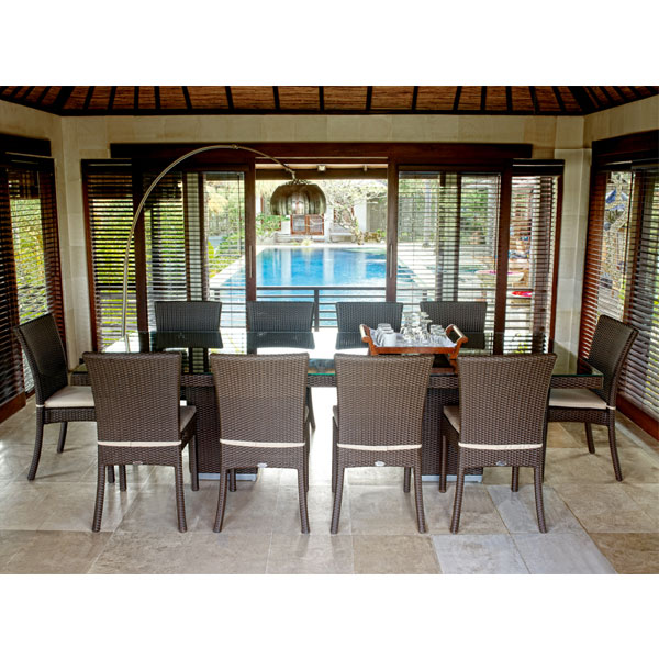 resin rattan used party chinese restaurant tables and chairs for sale