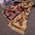 scarf luxury brand bandana hijab bandanas pashmina foulard nice cashmere poncho fular famous fashion women bufandas