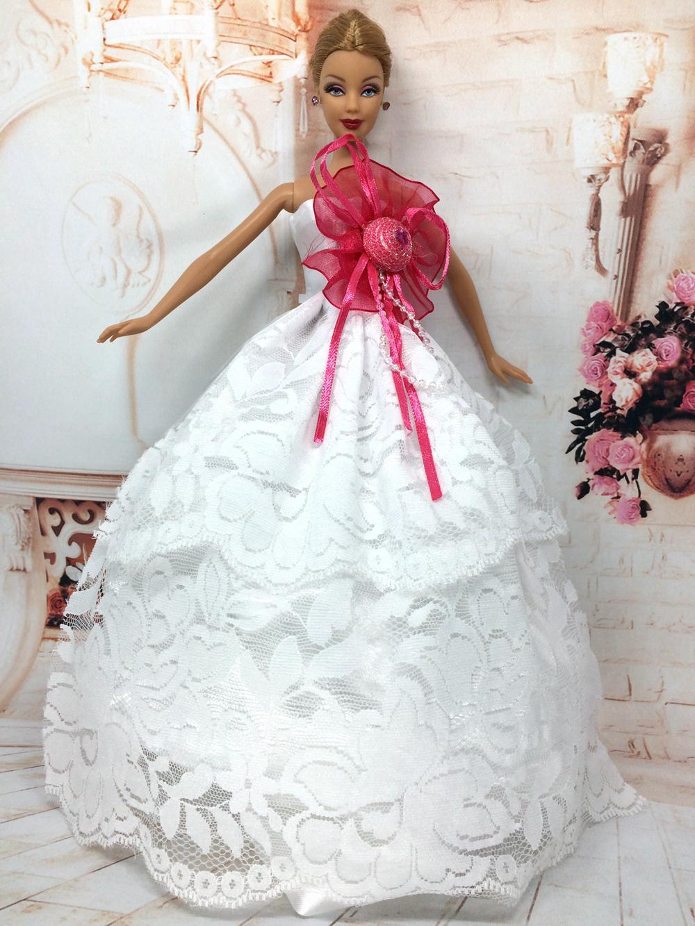 Свадебное платье для Барби - Своими руками интернет журнал 77