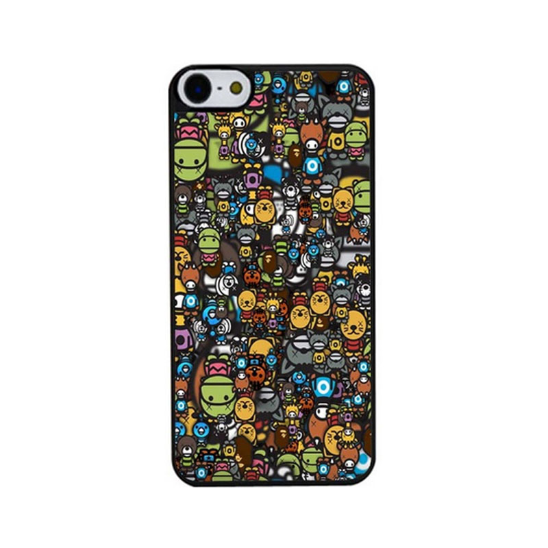 Many Funny Animals Skin Bag Case For iPhone4s 5s 5c 6plus 6S Cases Hard Back Cover(China (Mainland))