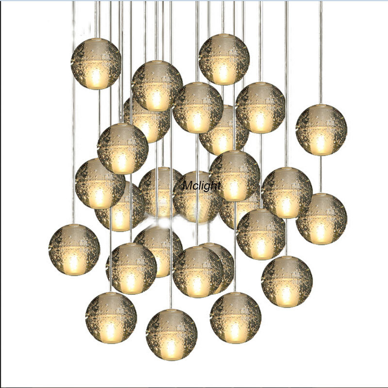 High quality crystal chandelier crystal ball meteor rain crystal chandelier  crystal chandelier pendants de 14 lights<br><br>Aliexpress