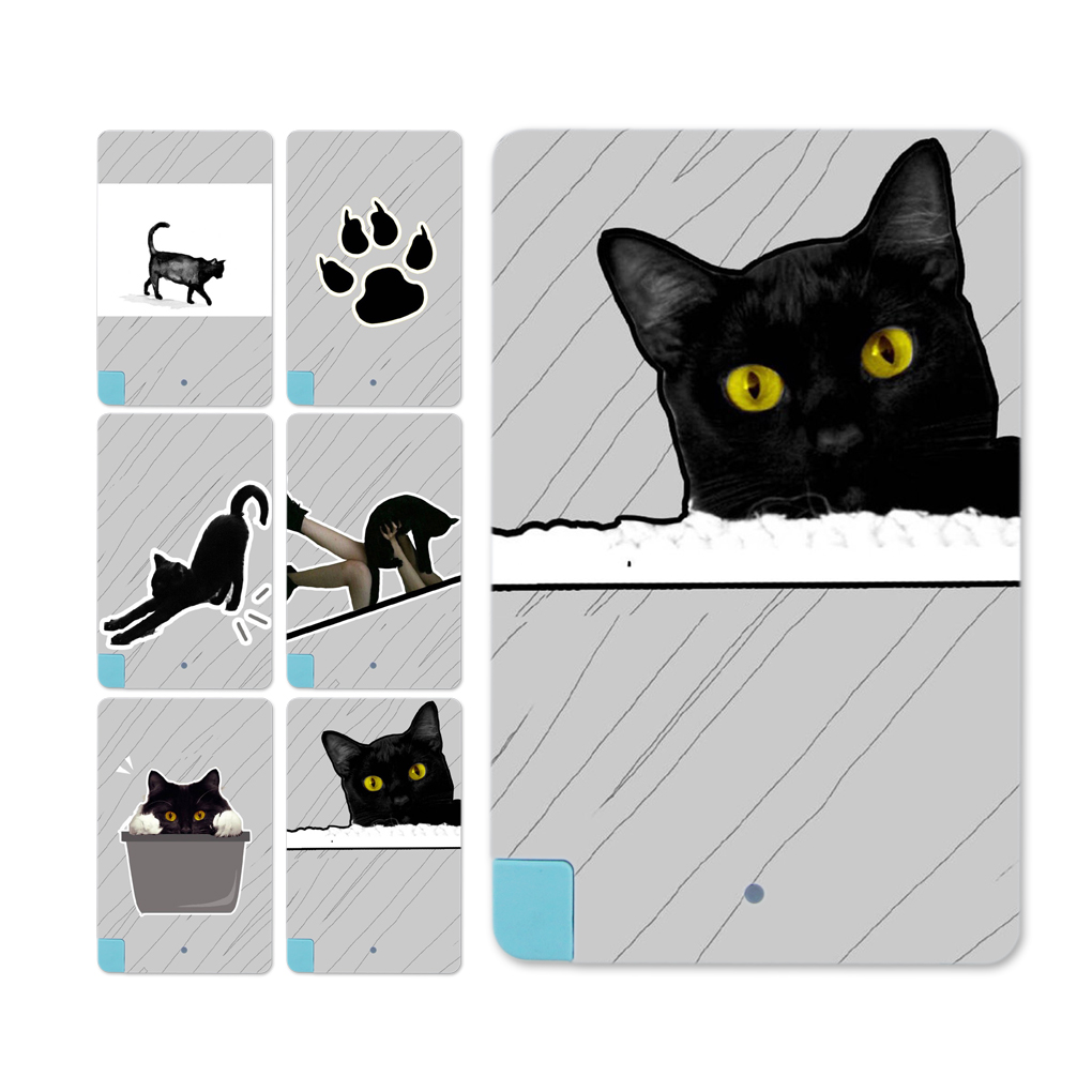 Black Cat Paw Card External Battery Power bank 2600mAh For Android for Iphone(China (Mainland))