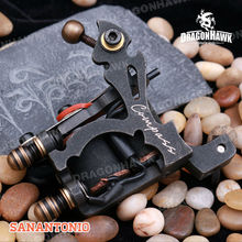 Compass Tattoo Machine SanAntoni Shader Steel Frame Copper Coils WQ2066(China (Mainland))