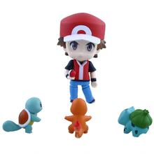 "Anime Pokemon 10cm/4"" Nendoroid Cute Cartoon PVC Figure Collection Toy Gift(China (Mainland))"