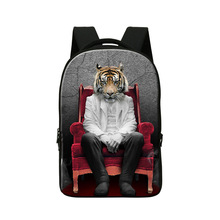 Buy Personalized Tiger Laptop Backpacks,Cool Mens Stylish Day Pack,College School Bookbags,Boys Back Pack Travling,computer bag for $33.99 in AliExpress store