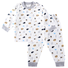 Children's Underwear Baby Cotton Long Sleeved Clothes and Long Johns Baby Underwear Set Home Furnishing Suit(China (Mainland))
