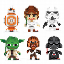 15 Style Star Wars Hero Characters Mini Building Blocks Figure Model Present Birthday Gift for Boys(China (Mainland))