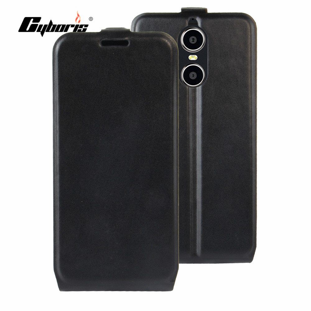 CYBORIS Doogee Shoot 1 Case Leather Phone Cover Doogee Shoot 1 Vertical up-down Flip Cover Bag card slot