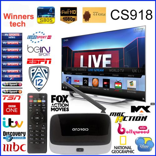 canal de streaming en vivo tv box cs918 q7 mk888 quad core. Black Bedroom Furniture Sets. Home Design Ideas