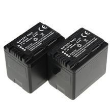 3Pcs 3 6V 4000mAh VW VBK360 VW VBK360 VWVBK360 Rechargeable Camera Battery ForPANASONIC TM90 SD90
