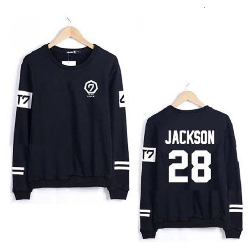 Got7 Harajuku Hoodies Exo Sweatshirt Women Tracksuit Couple Clothes Kpop Hip Hop Letters Print Hoodie Plus Size Sudaderas Mujer(China (Mainland))