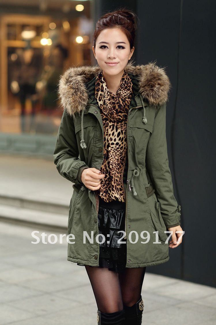 Womens Khaki Coats